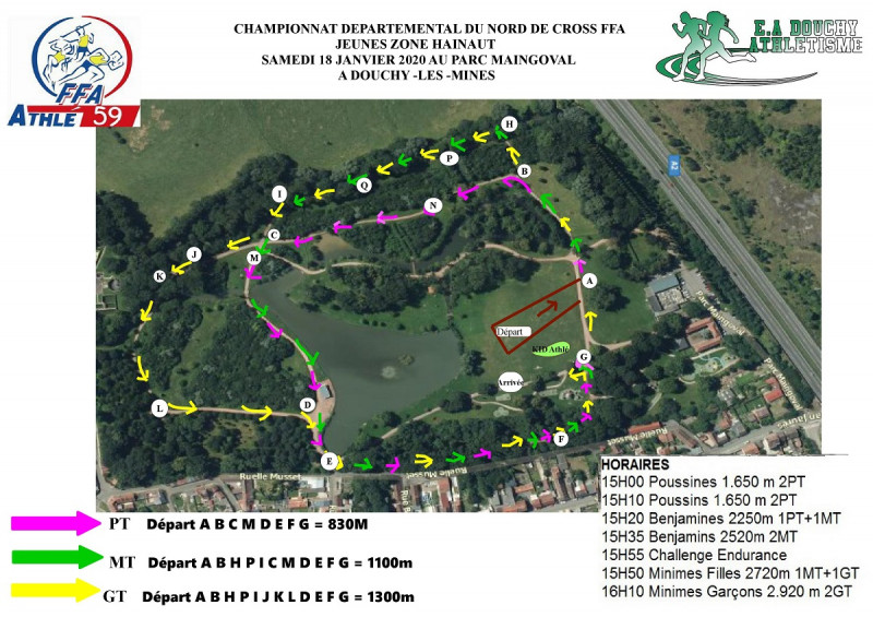 parcours douchy